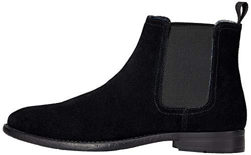 find. Arbor_hs01, Herren Chelsea Boots, Schwarz (Black), 43 EU
