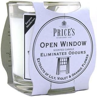 Price′s(プライシズ) Fresh Air CANDLE TIN Jar type (フレッシュエアー キャンドル ジャータイプ) OPEN WINDOW(オープンウィンドゥ)