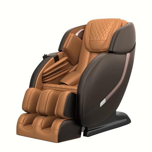 Real Relax Massage Chair, Full Body Zero Gravity Shiatsu Robots Hands SL-Track...