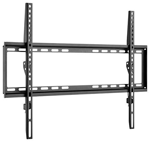 Gobay 49732 Soporte de Pared 65 Pulgadas extraplano para televisores Grandes de 37' a 70' hasta 35Kg VESA 600x400