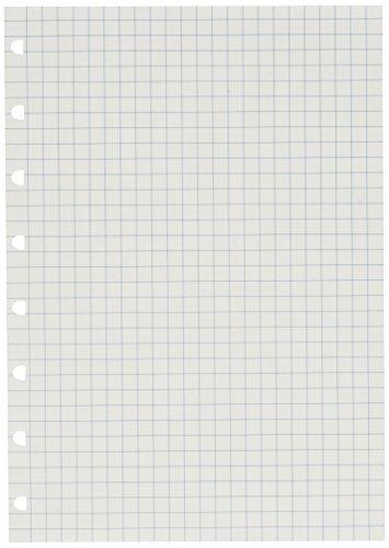 Nachfüllung für Notebook A5 kariertes Notizpapier von Filofax