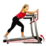Sunny Health & Fitness Folding Electric Treadmill with Auto Incline, LCD and Pulse Monitor, Bluetooth Speakers, Body Fat Calculator and USB Charging - SF-T7909 (SF-T7909)