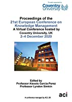 ECKM 2020 Proceedings of the 21st European Conference on Knowledge Management
