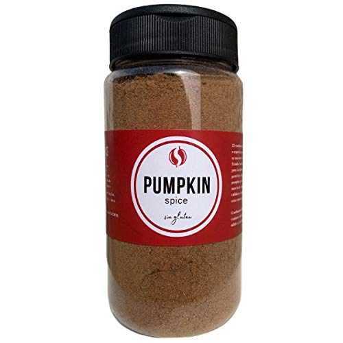 Pumpkin Pie Spice TodoEspecias 160g - Sin gluten - 100% Natural: sin sal ni aditivos - Bote Especiero con 2 dosificadores