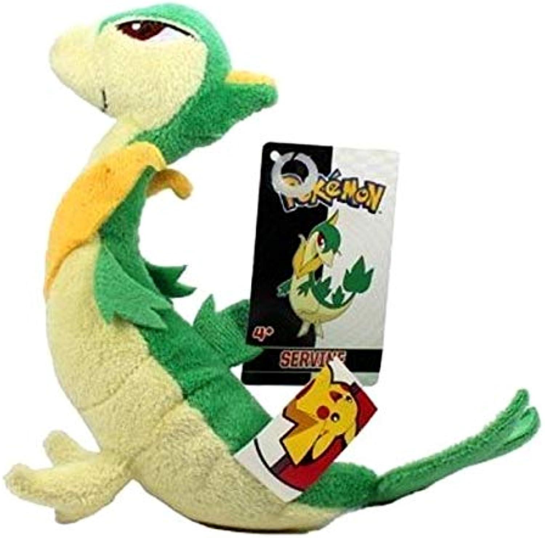 la mejor oferta de tienda online Jakks Pacific 7  Pokemon negro negro negro blanco Series 3 Mini Plush - Servine [Juguete]  lo último