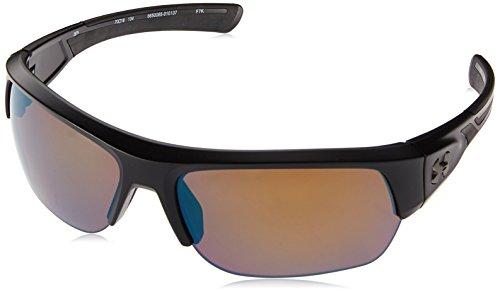 Under Armour Big Shot Sunglasses, Black / Tuned Shoreline Lens