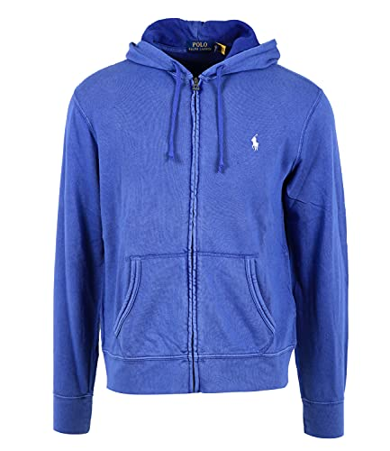 Polo Ralph Lauren Mod. 710706348 Sweatshirt Hoodie SPA Terry Man Blauw - blauw - XXL