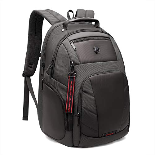 Backpack for leisure, everyday and work Bagtecs BS4 Laptop bag 30L grey