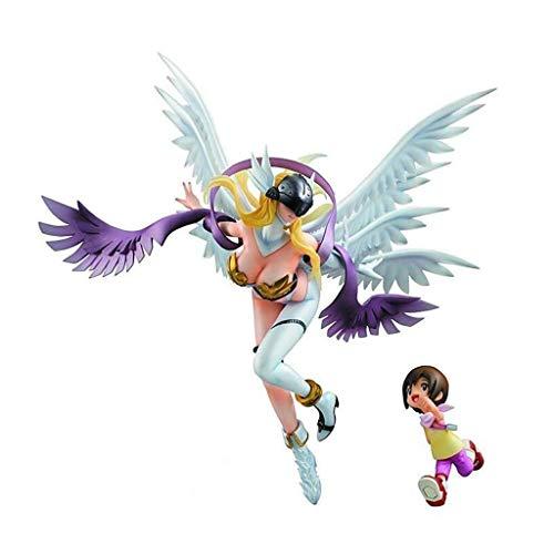 Value for money Boy Toys Action-Figur Digitale Monster Angemon Modell Spielfiguren Für Kinder Geburtstags-Geschenk-Spielzeug Für Auto-Dekoration Home Deco