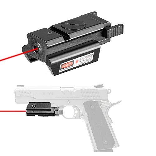 Gun Tactical Low Orbit Red Laser Scope Red Dot Sight Airsoft Pistol 20mm...