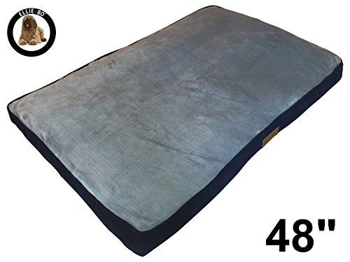 Ellie-Bo Perro Cama Piel sintética de Pana Lados Topping, (2x -Large,...