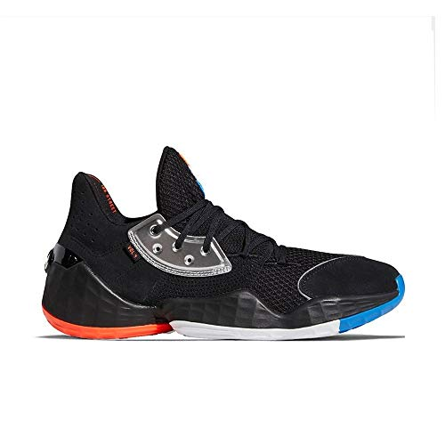 Zapatilla de Baloncesto Adidas Harden Vol. 4 Barbershop (44 EU - 10 US, Negro)