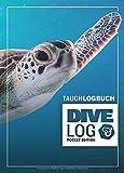 Tauchlogbuch I Dive Log Pocket Edition: Kleines Logbuch als Geschenk für Taucher & Scuba Diver zum...