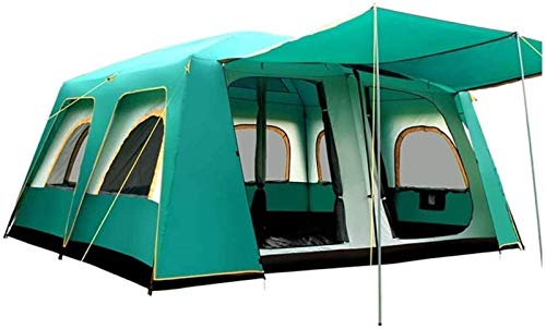 Plztou Tent for Camping Tent Outdoor 10~16 People Automatic Two-room One-room Family Camping Multi-person Rainproof Oversized Tent