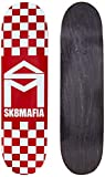 Sk8Mafia House Logo Checker Red 8.25'x32' Deck Skateboard, Adultos Unisex, Multicolor (Multicolor)