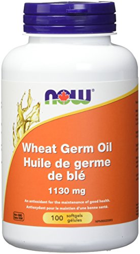 NOW Wheat Germ Oil 100 Softgels, 100 g