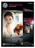 HP Premium Plus CR673A - Papel fotográfico semibrillante (25 hojas, A4)