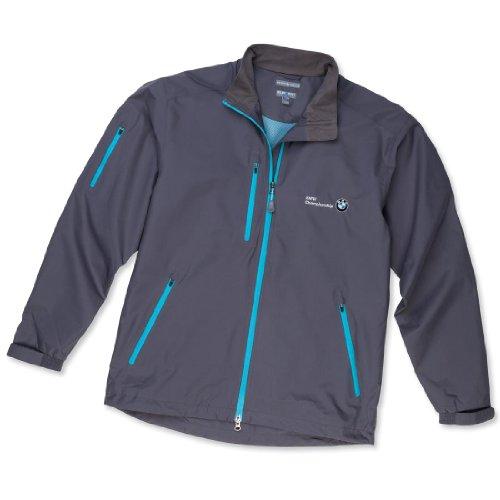 BMW Peter Millar Vancouver Rain Jacket, Men Medium Smoke