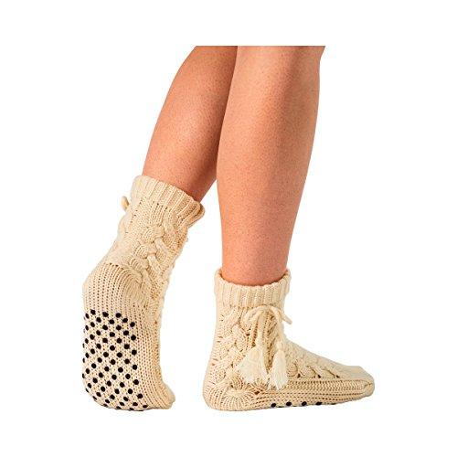 Anti-Rutsch-Socken, rutschhemmender Damen Sockenschuh