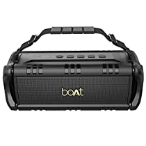 (Renewed) boAt Stone 1400 Wireless Bluetooth Speaker with IPX 5 Water Resistance, EQ Modes and HD Sound (Active Black)