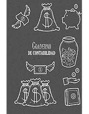 Cuaderno de Contabilidad: Planificador de presupuesto   Libro de ingresos y gastos   110 páginas   DIN A5