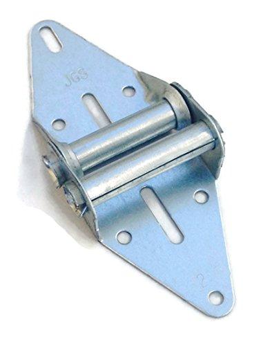 Garage Door Hinge #2 - Heavy Duty - 14 Gauge Steel with Galvanized Finish - Residential/Light Commercial Garage Door Replacement (Small)