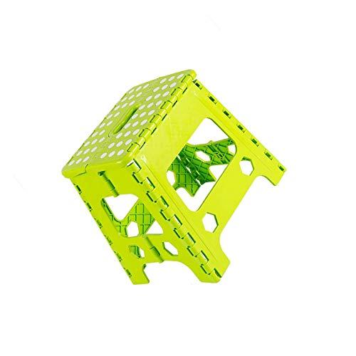 YuuHeeER Taburete pequeño portátil de plástico de la silla de la pesca del tren pequeño banco plegable taburete de camping taburetes 1 pc