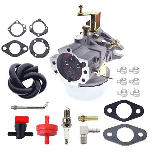 ANTO Carburetor Carb #30 for Kohler K321 K341 14HP 16HP Cub Cadet Engines with 271030-S 47-049-01 Gasket Insulator Spark Plug Kit