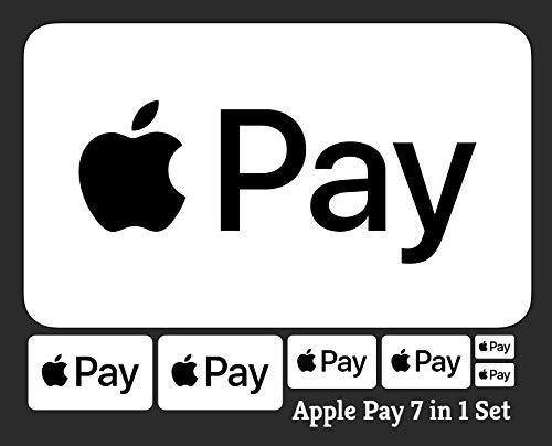Apple Pay Sticker, Google Pay Aufkleber (Apple Pay)