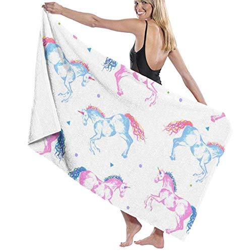 Toallas Shower Towels Beach Towels Bathroom Towels Toalla De Baño Toallas de baño para nadar con diseño de arcoíris Toalla 130 x 80 CM