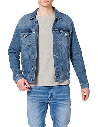 Tommy Jeans Regular Trucker Jacket LMBC Chaqueta, Lincoln Mb Com, L para Hombre