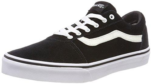 Vans Damen Ward Suede Sneaker, Schwarz Weatherized Black Glitter U3h, 37 EU