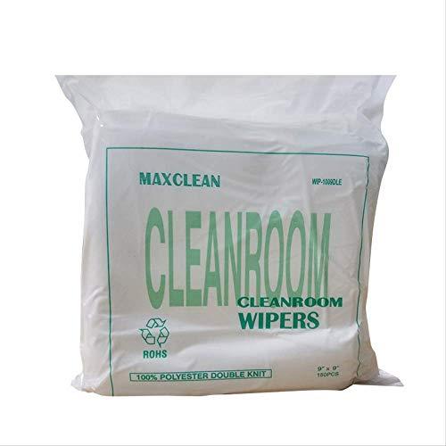 NOBRAND WHSG 9 Inch Polyester 1000-Afmeting Stofvrije Doek Precisie Instrument Oppervlaktereiniging Stofvrije Veeg Doek 150 Vellen