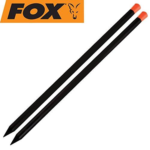 Fox Marker Sticks 24' (2 Stück), Stäbe zum Einstellen der Wurfentfernung nach dem Anfüttern auf Karpfen oder Ausloten der Angelstelle