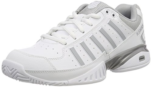 K-Swiss Performance Damen Receiver Iv Tennisschuhe, Weiß (White/Highrise 107-M), 39.5 EU