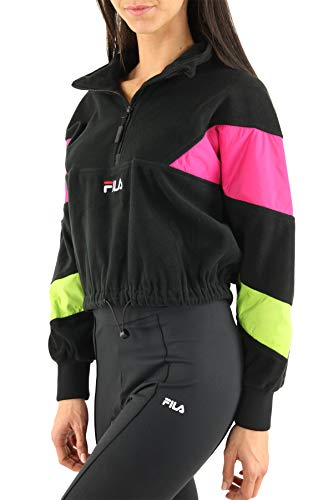 Fila Damen Sweater Rafiya Half Zip Fleece Sweater