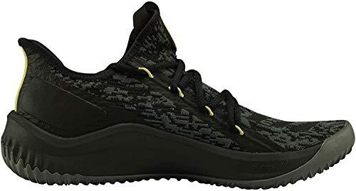 adidas Herren Dame D.O.L.L.A. Basketballschuhe, Schwarz (Cblack/Grefiv/Gold Mt Cblack/Grefiv/Gold Mt), 44 EU