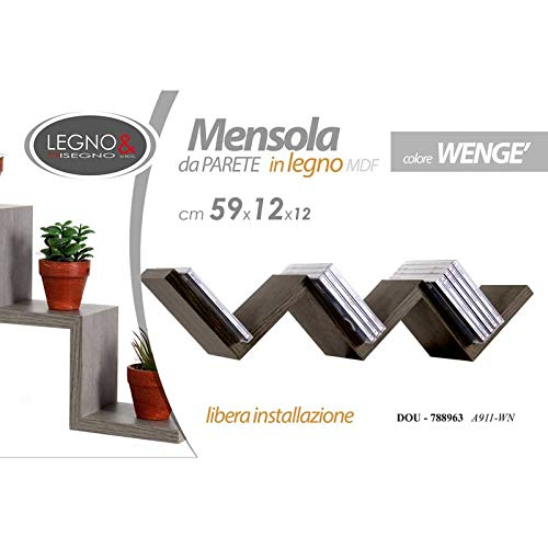 GICOS IMPORT EXPORT SRL MENSOLA COLWENGE 59X11,8CM A911-08A
