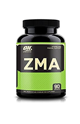 Optimum Nutrition ZMA Capsules, Pack of 90