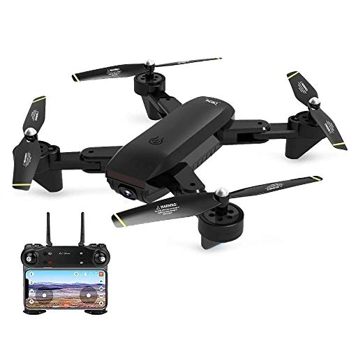 MeterMall DM107S Dubbele camera's Opvouwbare RC Drone Snelle ondersteuning VR UAV RTF 2.0MP Groothoekcamera