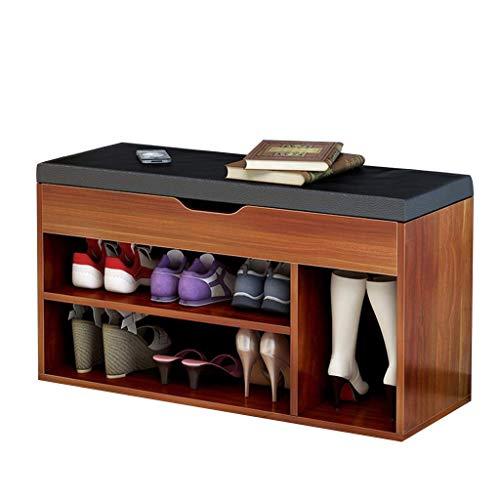 HLL Taburete de Cambio de Zapatos Taburete de Almacenamiento de Zapatos Moderno Y Simple Taburete de Zapatos de Desgaste Nórdico Taburete de Sofá Banco de Cambio de Zapatos Zapatero de Banco,Color Ce