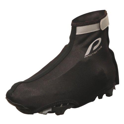 Protective PSD MTB Bootie - Botín de ciclismo unisex, color negro, talla 37-39