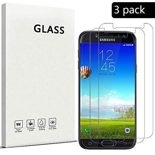 XCYYOO [3-Pack]para Samsung Galaxy J5 2016 (SM-J510) Protector de Pantalla, Cristal Vidrio...