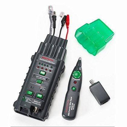 Price comparison product image Mastech MS6813 Multifunction Network Cable & Telephone Line Tester Detector Tracker Autoranging multimeter