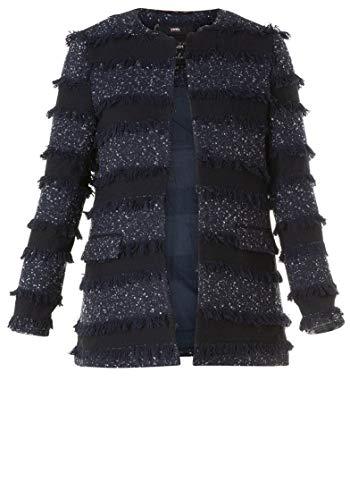 Vest Yesta maat:50 kleur Deep Blue/Ecru