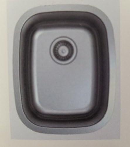 19 undermount stainless steel kitchen sink 19 X 17 X 7 product image