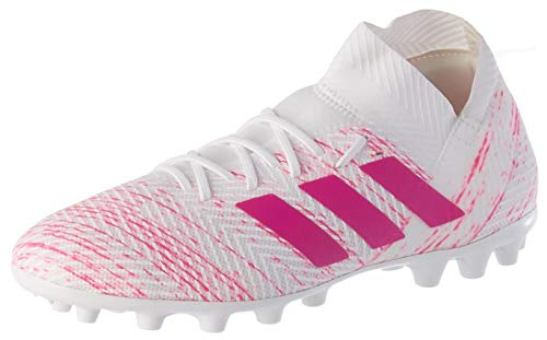 Adidas Nemeziz 18.3 AG, Zapatillas de fútbol Sala Hombre, Multicolor (Ftwbla/Rossen/Rossho 000), 45 1/3 EU