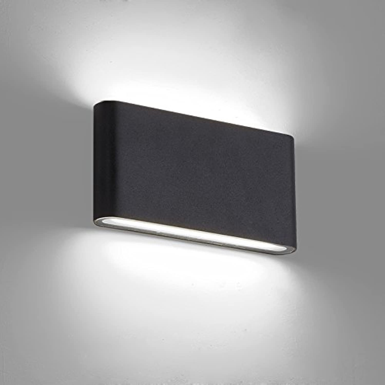 JINSHUL Führte im Freien auf und ab leuchtende Wasserdichte Wasserdichte Wasserdichte Wandlampe im Freienhof Feuchtigkeit-Beweislampengangbalkonlampen-Nachttischlampenwandlampe B07HVCP5QF | Verkauf  f8dd0b