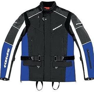 Spidi Voyager Mens Textile Sports Bike Motorcycle Jacket 3X-Large Black//Red
