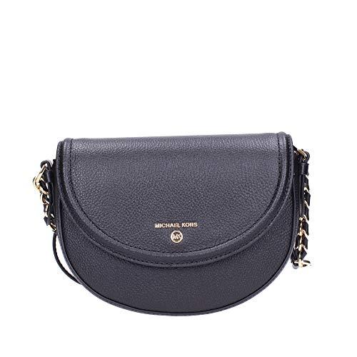 Composition: Cow Leather; Details: Metal W 8.27 x H 5.51 x D 1.97 inches; Shoulder Strap Drop: 22.44 inches; W 21 x H 14 x D 5 cm; Shoulder Strap Drop: 57 cm Made In IDN Black Bags